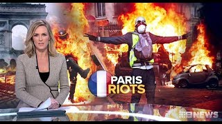 Down With The EU. Yellow Vest Protests.(Carbon Tax)(Multiculturalism) Nine + Seven News