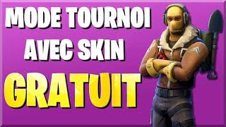 official! TOURNOIS MODE WITH FREE RECOMPENSES ON FORTNITE!