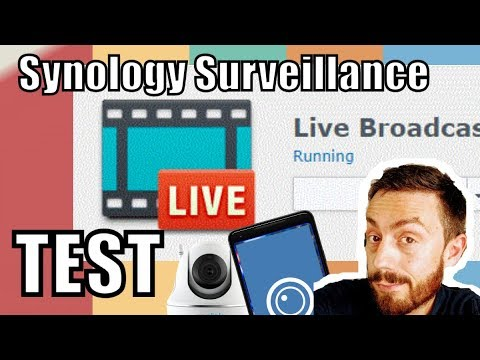 Synology Surveillance Station LiveStream Test with the Reolink C2 Pro and  Synology LiveCAM