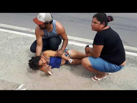 BONFIM: ANDARILHA FOGE DA UPA E PASSA MAL NO CONTORNO DA BR 407 EM BONFIM