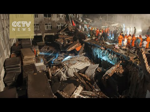 9 dead, more than 30 injured in China shoe factory collapse