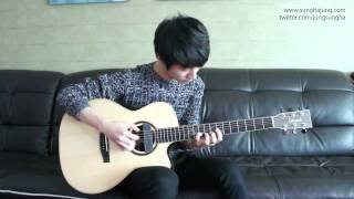 Carly Rae Jepsen) Call Me Maybe   Sungha Jung Acoustic Tabs Guitar Pro 6