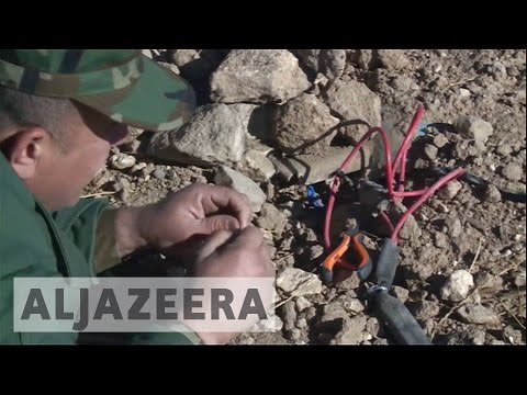 Battle for Mosul: Thousands of landmines left by ISIL found near Bashiqa
