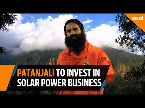 Patanjali to diversify into solar power business