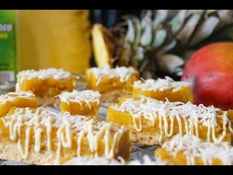 recette-des-barres-exotiques-mangue-ananas-coco