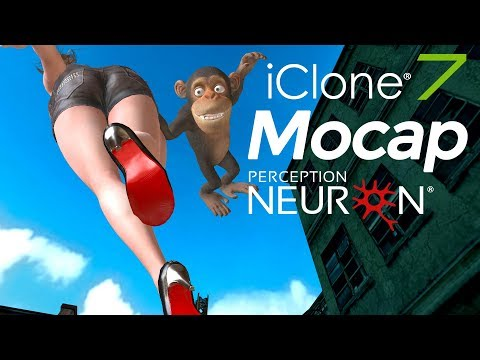 Motion capture for games - iClone Live Mocap with Perception Neuron
