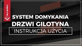 Domykanie Drzwi w kominkach typu Gilotyna - nowy system, wkłady kominkowe Kratki, obsługa i serwis