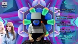 Twice Songs EDM Mixing 트와이스 클럽노래 리믹스들 믹싱하기 kpop !  (DJ Moshee