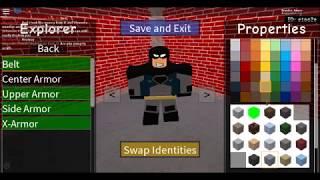 How to make Batman (Shl II Roblox) (3 Styles)