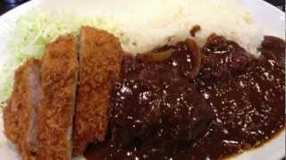大宮市場 キッチンニューほしの 特選ジャンボかつカレー Curry