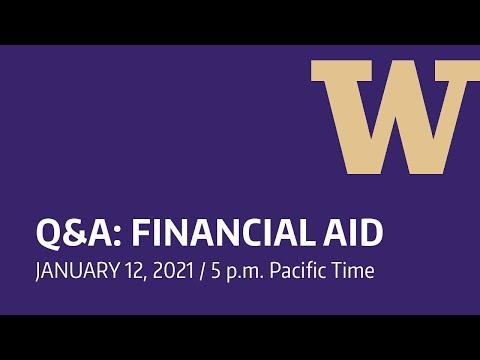 UW Financial Aid Q&A