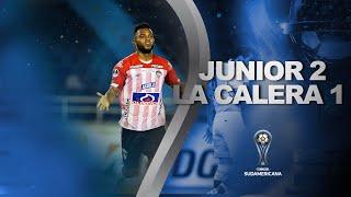 Junior vs. Unión La Calera [2-1] | RESUMEN | Octavos de Final | CONMEBOL Sudamericana