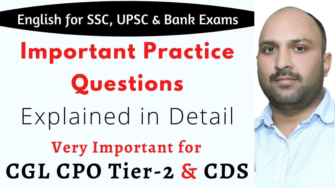 GRAMMAR QUESTIONS DISCUSSION    ENGLISH FOR COMPETITIONS    ANKUL SIR