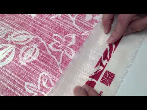 Pattern Matching Fabric - How to join patterned fabric