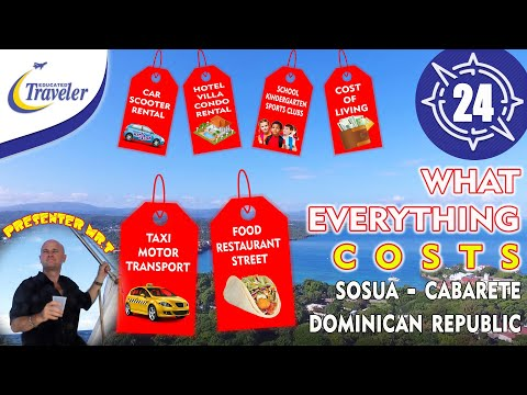 What Everything Costs Sosua Cabarete Dominican Republic Cost of Living Prices