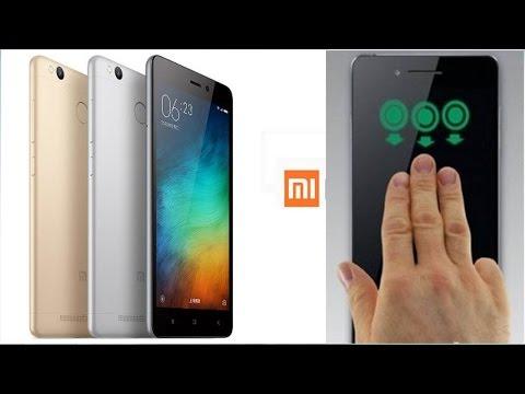 Cara Screenshot Tiga Jari di Xiaomi