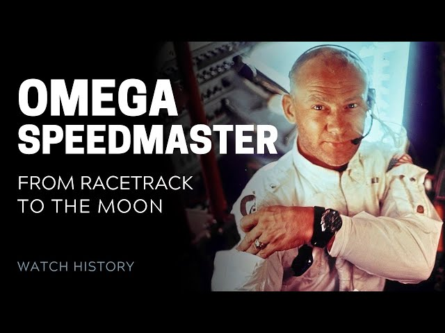 Omega Speedmaster: From Race Track to the Moon | SwissWatchExpo [Watch History]