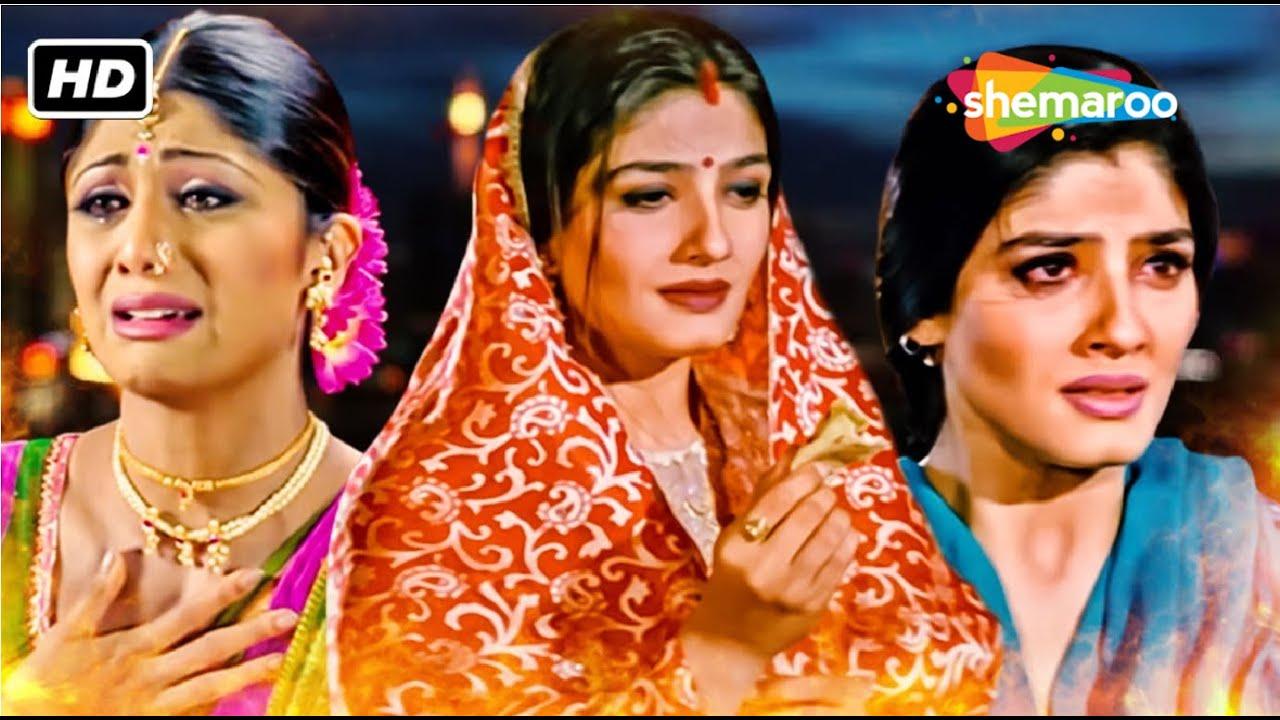 रवीना टंडन को मिला प्यार में धोका...करोड़पति के बेटी समज कर की शादी बाद में हुआ पछतावा - HINDI MOVIE