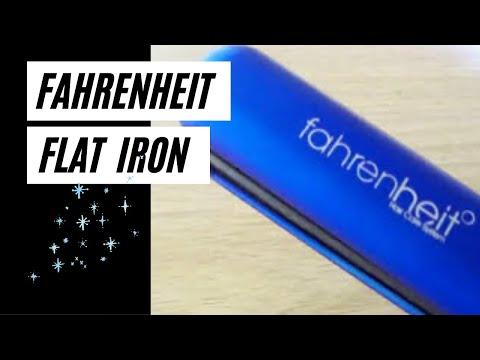 Fahrenheit Flat Iron Blue