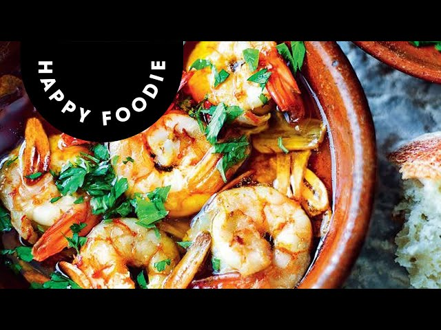 Omar Allibhoy's Prawns with Garlic (Gambas Al Ajillo) | Tapas Revolution