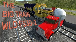 THE TRAIN! - WLD FS30-2 Diesel-Electric Locomotive - BeamNG.drive
