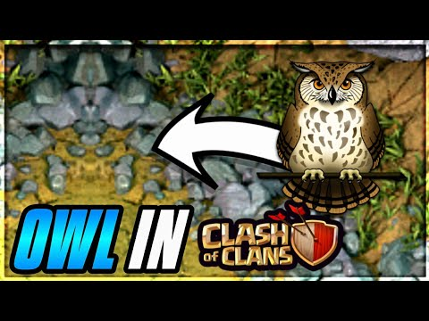 OWL IN GOBLIN MAP! WHY? EASTER EGGS #1 IN CLASH OF CLANS•FUTURE T18