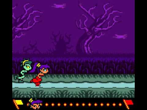 Shantae vs Rottytops - Race