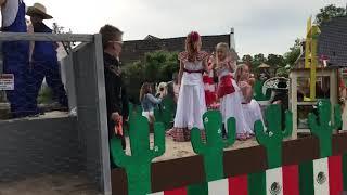 Doarpsfeest Raard Boarnwert Foudgum 2019 optocht