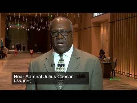 Rear Admiral Julius Caesar, USN Ret