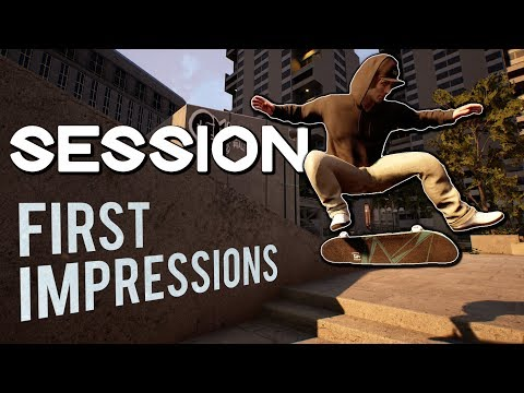 SESSION - First Gameplay and Impressions