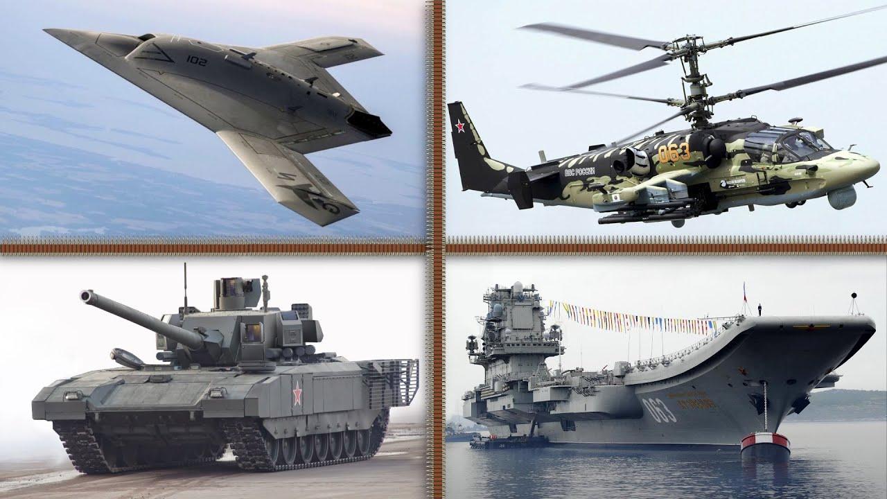 Los 10 Vehículos Militares más MODERNOS y PODEROSOS de Rusia 🇷🇺