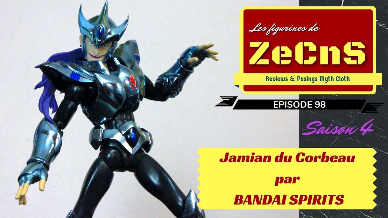 Saint Seiya Myth Cloth - Les Figurines de ZeCnS - Jamian du Corbeau Bandai Spirits Review