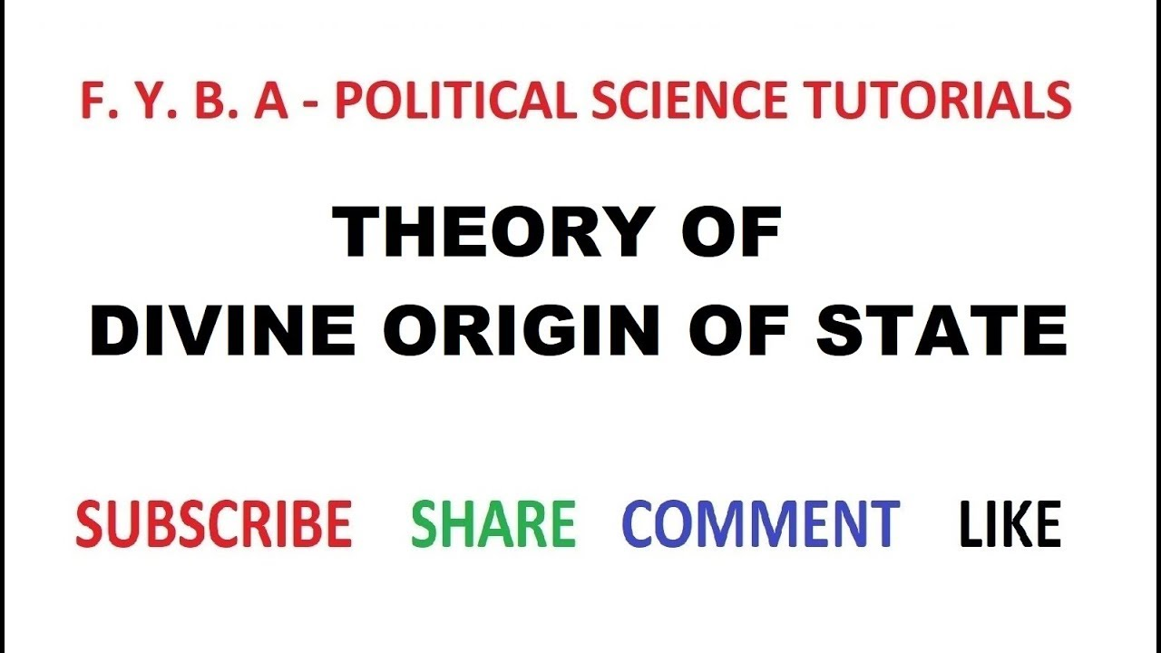 Theories of the origin of the state