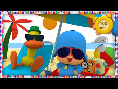 🎶 POCOYO AND NINA - Music festival 🌴 [100 minutes]   ANIMATED CARTOON for Children   FULL episodes