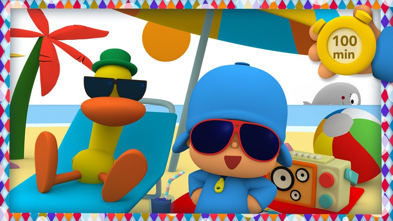🎶 POCOYO AND NINA - Music festival 🌴 [100 minutes] | ANIMATED CARTOON for Children | FULL episodes