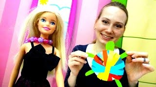 Барби и Маша: ЧЕРЕПАХА своими руками из бумаги