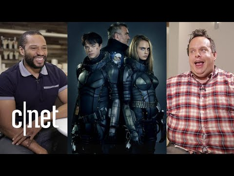 Watch CNET's biggest sci-fi nerds review the film 'Valerian'