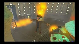 The Tenth Doctor's regeneration | Roblox Xbox One