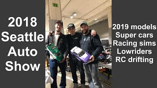 2018 Seattle Auto Show | RC drifting & Lowriders