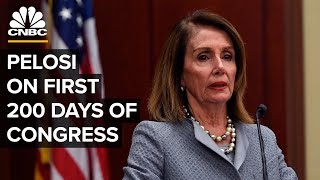 Speaker Nancy Pelosi on the first 200 days of 116th Congress - 07/25/2019