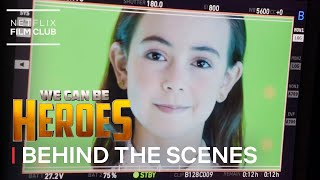 Ojo Behind the Scenes | We Can Be Heroes | Netflix