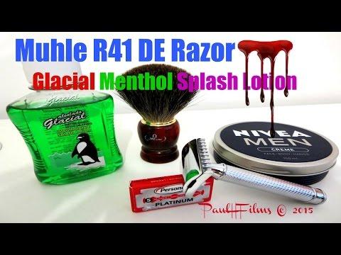Muhle R41 DE Razor - Muhle Aloe Vera Shaving Soap