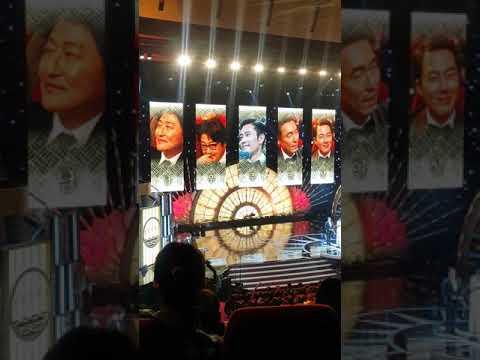 Best Actor Award  Kang Ho at 38th Blue Dragon Awards