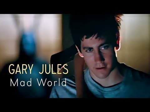 Gary Jules - Mad World (Lyric Video) (Donnie Darko Soundtrack)