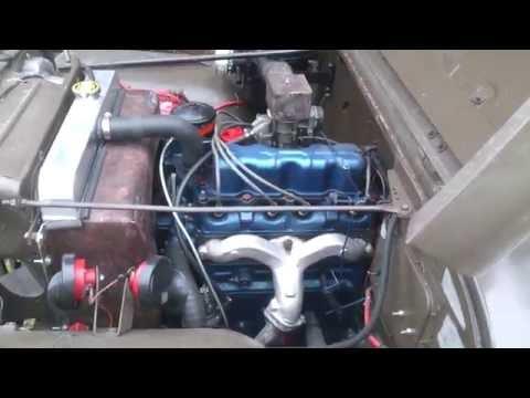 Motor de jeep willys modelo 1960