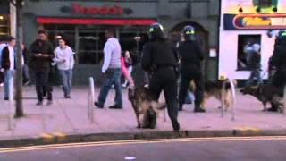 Aftonbladets reporter försöker förklara upploppen i London