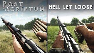 Hell Let Loose vs Post Scriptum | Direct Comparison