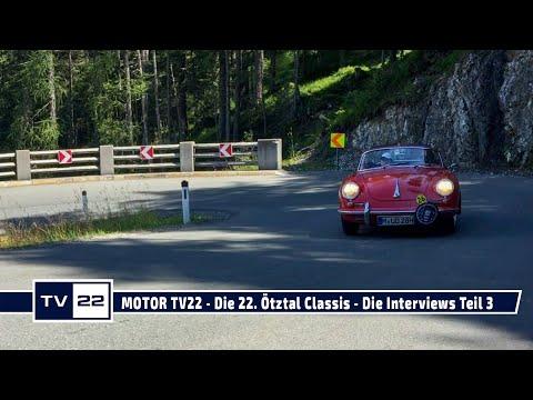 MOTOR TV22: Die 22. Ötztal Classis - Die Interviews Teil 3