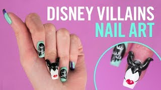 Disney Villains Nail Art | TIPS by Disney Style