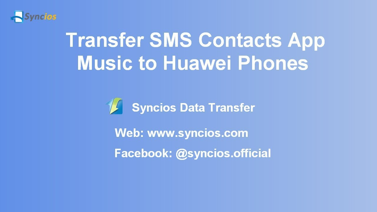 Transfer Data to Huawei P9| How to Transfer contacts, messages
